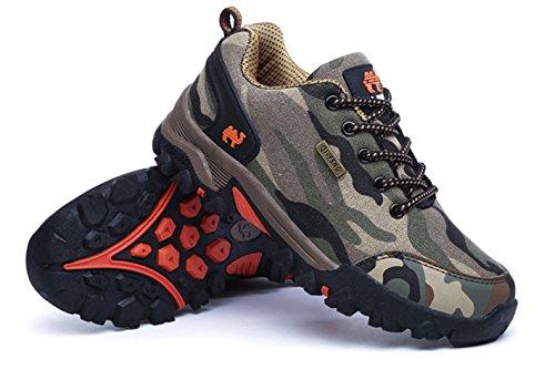 Chaussures Femmes Respirant Orange Chaussures d'escalade Hommes Randonnée de Antidérapant Chaussures 5AxOwY