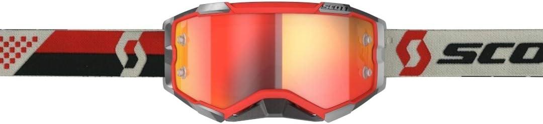 Scott Fury MX Goggle Cross//MTB Brille rot//schwarz//orange Chrom Works