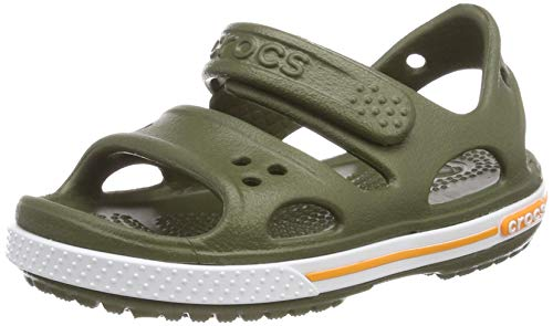Niños Sandalias Green Ii Kids army Sandal Para Unisex Crocs Crocband Verde nf6pqf