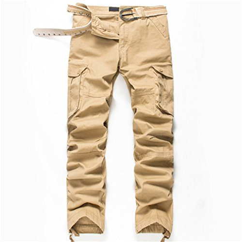Used, YShowntide Spring Style Top Clothing Solid Mens Cargo for sale  Delivered anywhere in USA