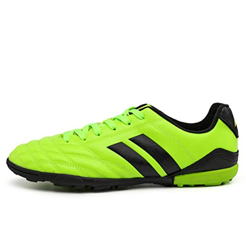 Indoor Sports Football Soccer Boot Male Centipede Futsal Turf Soccer Shoes 7 Women EU 38 Green