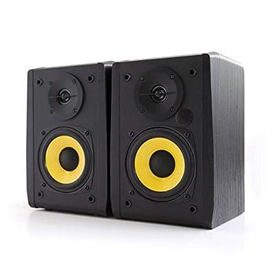 "Edifier R1010BT 4"" Active Bluetooth Bookshelf Speakers - 2.0 Computer Speaker - Powered Studio Monitor (Pair)"