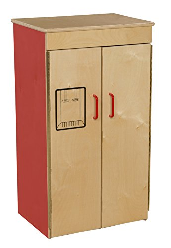 Wood Designs 10400R Strawberry Red Refrigerator by Wood Designs