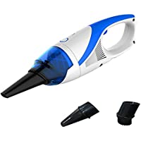 Cordless Handheld Vacuum Cleaner,LianLe Portable Rechargeable Hoover Dustbuster Bagless for Car Home Pet with 1400pa Powerful Suction Blue