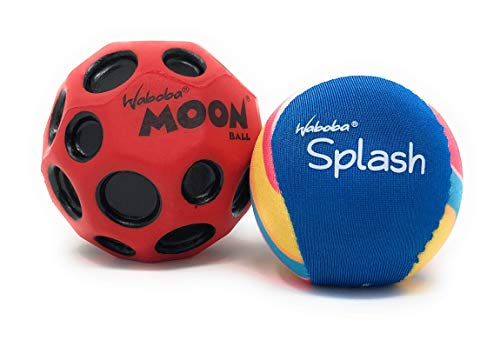 Moon Street Ball & Waboba Splash Water Ball 2 Pack Bundle ()