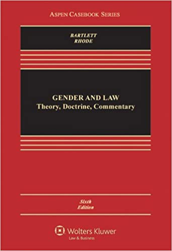 Sexuality gender and the law 3rd edition