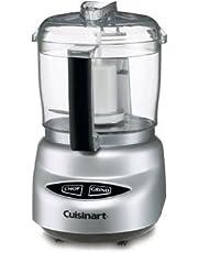 CUISINART DLC-2ABC Mini-Prep Plus Food Processor Brushed Chrome & Nickel, 3 Cup