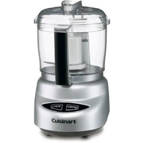 Cuisinart DLC-2ABC Mini Prep Plus Food Processor Brushed Chrome and