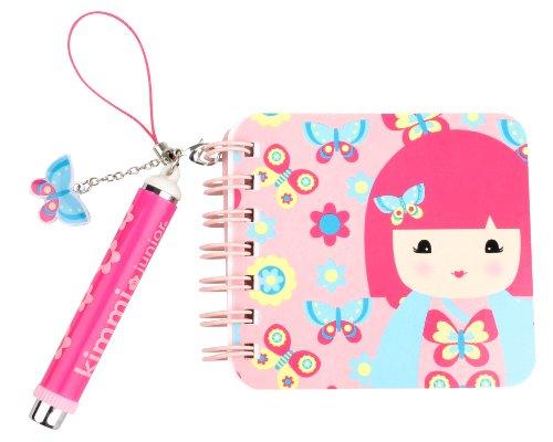 Kimmidoll Junior Mini Notebook and Pen, Ellie