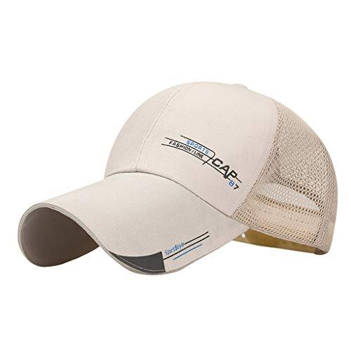 Baseball Cap Fashion Hats for Men for Choice Utdoor Golf Sun Hat Summer Sun Protection Under 5 Dollars Khaki ()