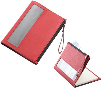 aeropen-international-nb-52-red-pu-leatherette-medium-sized-a6-notebook-with-zipper-window-pocket