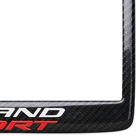 Carbon Fiber C7 Grand Sport Corvette License Plate Frame