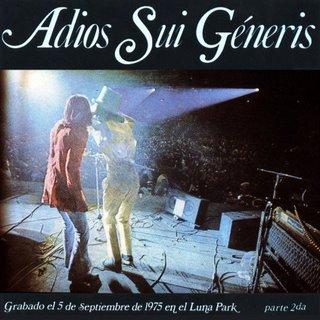 Charly Garcia;Nito Mestre - Adios Sui Generis, Parte 2da(Vol.2) - Amazon.com Music