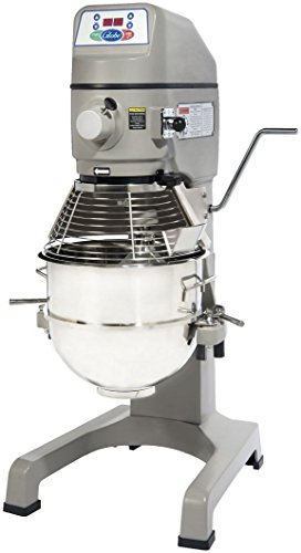 Globe SP30, 30 Quart Floor Mixer, Commercial Gear Driven Planetary Mixer, Vertical Bowl Lift Dough Mixer 30 Quart Floor Mixer