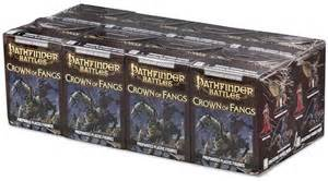 Pathfinder Battles Crown of Fangs Booster Brick 8ct Wizkids 72802 by WIZKIDS/NECA