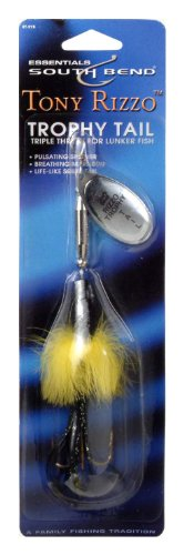 South Bend Trophy Tail Spinners, (Spinner Sport Trophy)