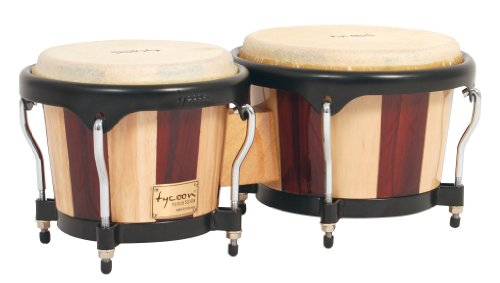 Tycoon Percussion 7 Inch & 8 1/2 Inch Artist Series Bongos - Retro Finish