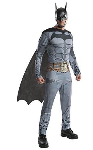 Rubie's Men's Arkham City Adult Batman, Multicolor, Small ()