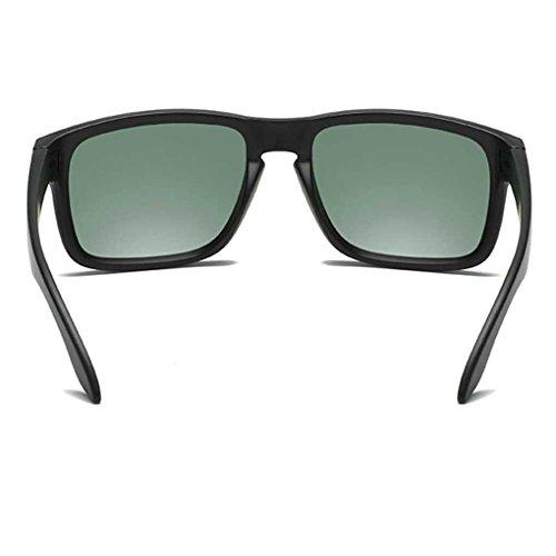 Vintage Gafas Sol PC Gentleman Conducir Fresca Gafas Vidrios Sol la de de Gafas fish 6 de Clásica polarizados Coolsir Marco wzqZIwE
