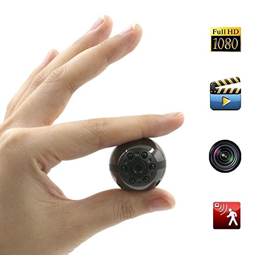 Spy Hidden Camera, Moosoo 1080P/720P HD 6 LED Infrared Night Vision Motion Detection Camcorder Video SD Card Storage Nanny Cam Home Security Camera by Moosoo