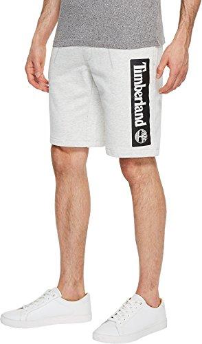 Timberland Mens Shorts - Timberland Mens Jogger Shorts Micro Chip Heather Linear MD 11