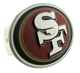 Siskiyou San Francisco 49ers Large Logo Hitch Cover