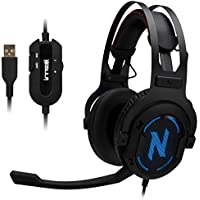 Rosewill NEBULA GX60 Over-Ear 53mm Wired Gaming Headphones
