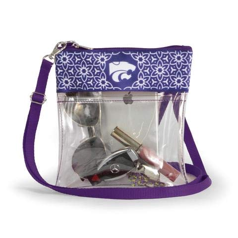 Canyon Outback Clear Crossbody Game Day Bag (Stadium Approved) ... (Kansas State II)