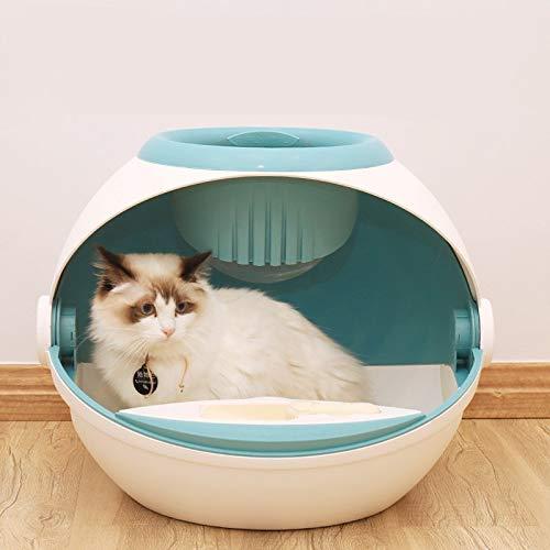 Owenqian Caja de Arena para Gatos Gatito higiénico doméstico ...