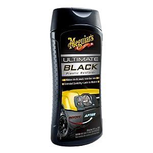 Meguiar's G15812 Ultimate Black Plastic Restorer - 12 oz.