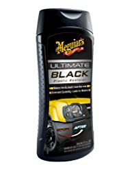 Meguiar\'s G15812 Ultimate Black Plastic Restorer - 12 oz.