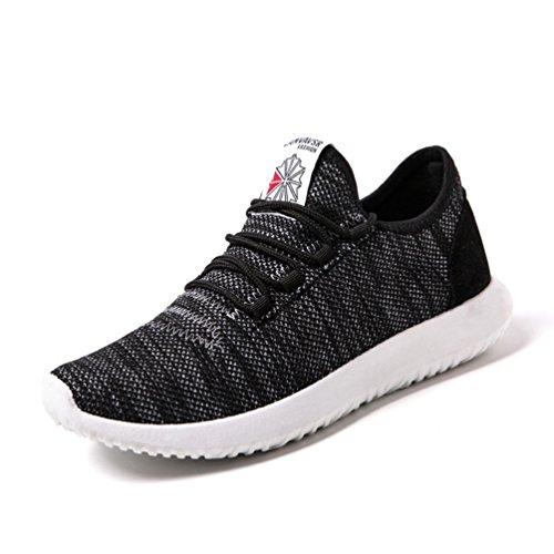Männer Bequeme Turnschuhsommer Laufschuhe Leichte Rütteln die Schwarz der Freien Schuhe im Sportschuhe 8RET5pwq4
