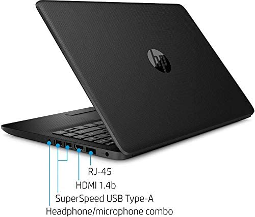 2021 Newest HP 14 inch HD Laptop Newest for Business or Student, AMD Athlon Silver 3050U (Beat i5-7200U), 8GB DDR4 RAM, 128GB SSD + 1TB HDD, WiFi, Bluetooth, HDMI, Windows 10 + Oydisen Cloth
