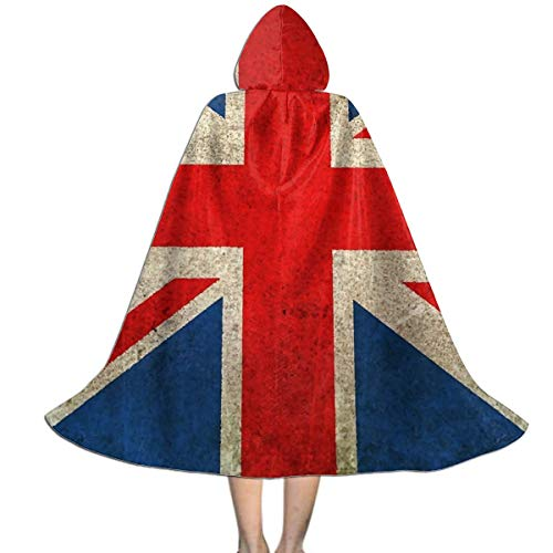 Union Jack Flag UK Damaged Art Cloak