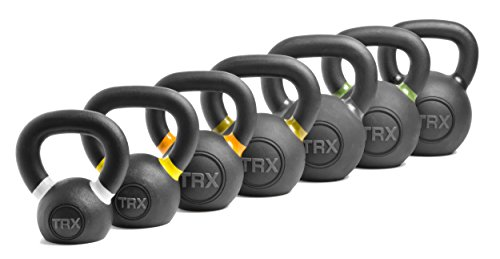 TRX Training TRX Gravity Cast Kettlebell, Comfortable Handle for Easy Gripping