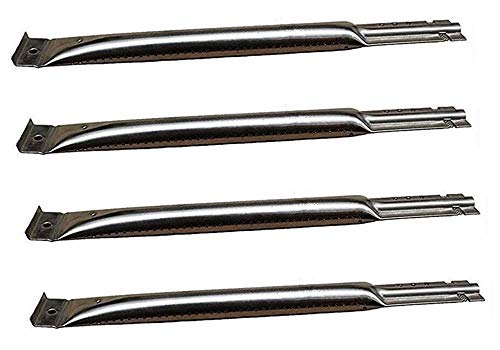 (Hongso SBE491 (4-Pack) Replacement BBQ Pipe Tube Gas Grill Burner for Charmglow, Charmglo, Uniflame, Lowes Model Grills (14 3/8 )