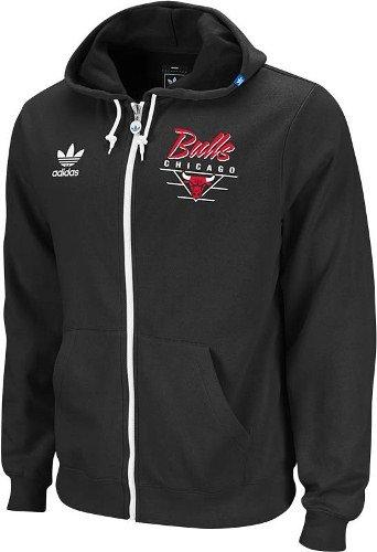 Adidas Chicago Bulls Full Zip Hoodie
