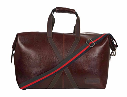 Best Deal Sale Deal Unisex/Men's/Women's Leather Travel Weekender Duffel Travel Gym Sports, Leather Duffle Bag Chocolate/Dark Brown by TORTOISE