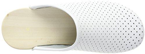 Berkemann Unisex-Erwachsene Standard-Toeffler Clogs Weiß (Weiß)