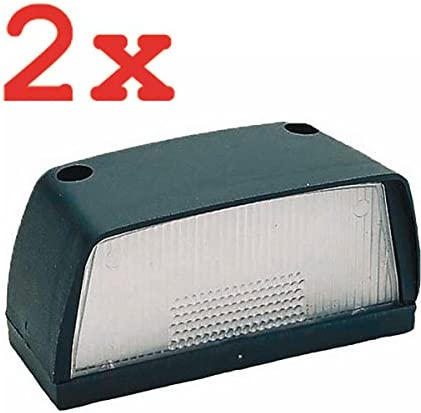 HP PFEFFERKORN/_bundle 2X KENNZEICHENLEUCHTE Number Plate Light
