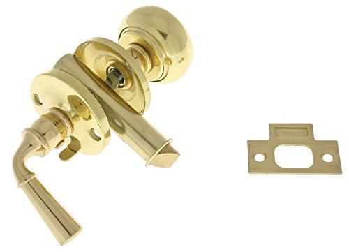 - IDHBA idh by St. Simons 21250-3NL Premium Quality Solid Brass Storm Screen Door Latch, Polished Lacquer