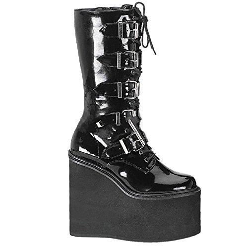 Demonia Swing-220 - Gothic Industrial Punk Mega Plateau Stiefel Schuhe 36-43