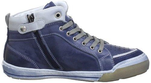 Primigi ADAMO-E 8260277 - Zapatos de cordones de cuero para niño Azul (Blau (DENIM/NAVY))