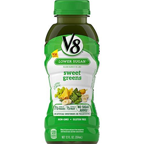 V8 Sweet Greens, 12 oz. Bottle (Pack of 12)