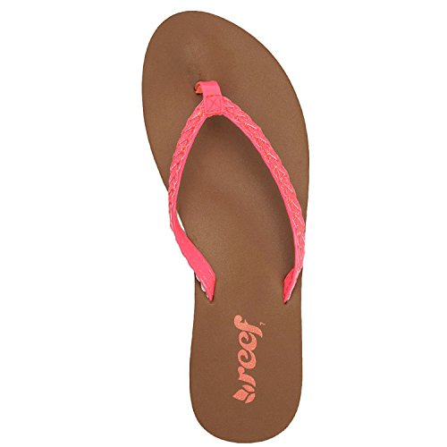 Reef Sandals Women Stars neon 8 Rose Twisted Taille 0 rose pink B gtZrgq