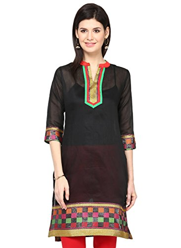 Cenizas-Womens-Indian-Tunic-Top-Silk-Kurti