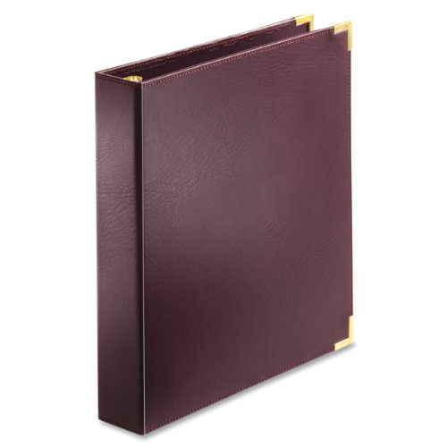Cardinal Business Collection Presentation Binder, 1-Inch, Burgundy (144 710)
