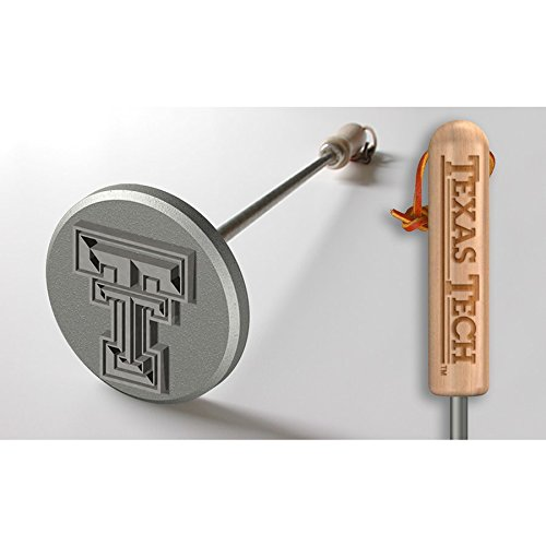 テキサスTechレッドRaiders BBQ Branding Iron | BBQファン B01M62IG1I