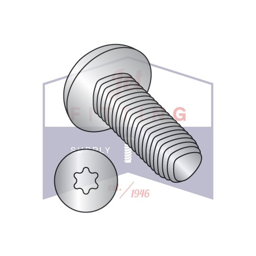 10-24X1 1/4 Taptite Style Thread Forming Screws | Six-Lobe (Torx) | Pan Head | 18-8 Stainless Steel (QUANTITY: 2000) by Jet Fitting & Supply Corp