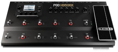 Line 6 POD HD500X Guitar Floor Multi-Effects ()
